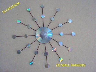 RECYCLED CD'S WALL HANGING