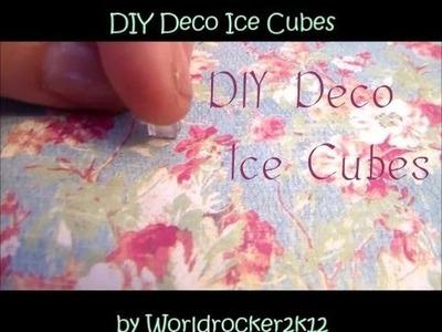 Resin Ice Cubes Tutorial