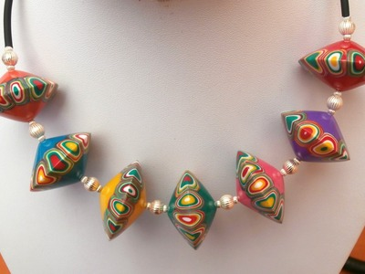 SPINNING TOP BEADS - POLYMER CLAY SET