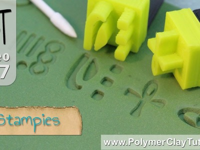 Stampies - Design Stamps for Polymer Clay