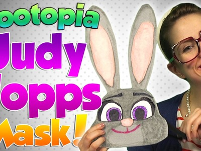 Zootopia - Judy Hopps Mask DIY Craft | Arts and Crafts with Crafty Carol at Cool School