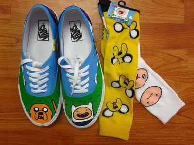 Adventure Time Custom HandPainted Vans