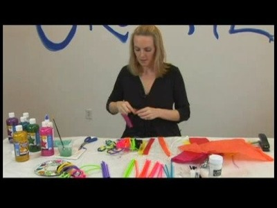 Children's Crafts: Pipe Cleaner Fish : Pipe Cleaner Fish: Using Tissue Paper