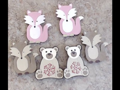 ~ Cute Critter Cameo Clips ~ Silhouette Tutorial