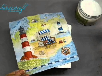 Decoupage Tutorial - Tissue Box
