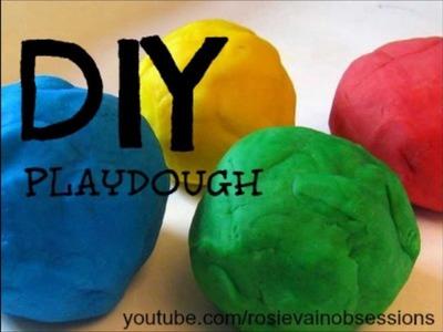 DIY Homemade PlayDough!! FUNNNN!!!