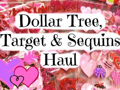 Dollar Tree, Target & Sequins Haul!