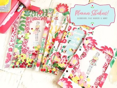Easy shaker dashboards,  shaker page markers, shaker clips & more with the Planner Society March kit