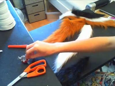 Fursuit tail tutorial part 2