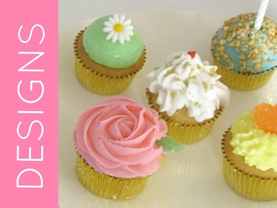 How To Frost A Cupcake Part 2: Fun Designs & Techniques | Cupcakes 101: Quick, Easy Tips & Tricks