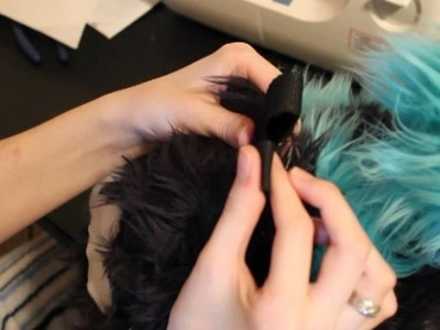 How to make a husky tail (and be secure when wearing a suit)