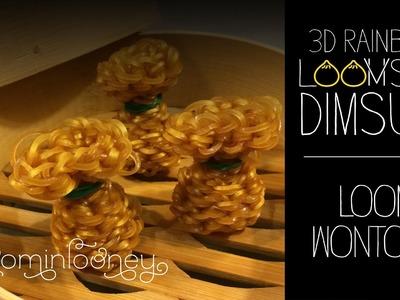 Loom Wontons: 3D Rainbow Loomsum Dimsum Series