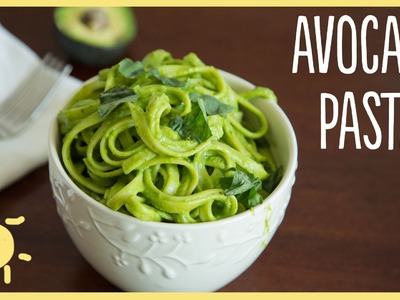 MEG | Avocado Pasta (easy, healthy, delicious dinner recipe)