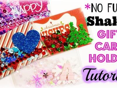 *NO Fuse* Shaker Gift Card Holder Tutorial!