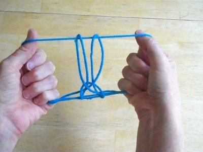 Rabbit String Figure - Tutorial - Pull the Rabbit out of a Hat