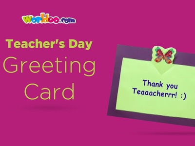 Worldoo - Teacher's Day Greeting Card