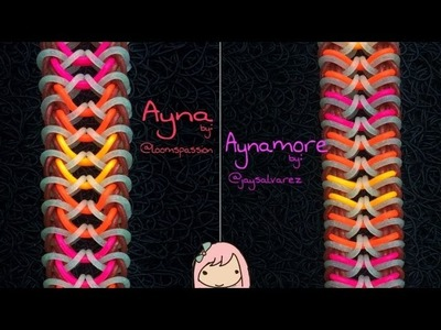 AYNA & AYNAMORE Hook Only bracelet tutorials
