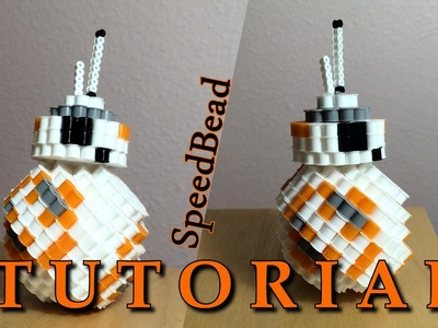 BB-8 3D PERLER BEAD TUTORIAL!