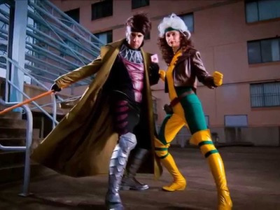 Cosplay Construction Compilation - Rogue & Gambit X-Men
