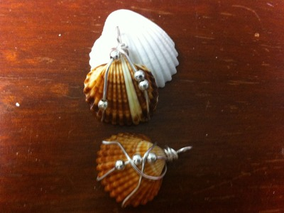 Easy Seashell Wire Wrap