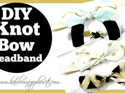 Fabric Bow Knot Headband Tutorial - Hairbow Supplies, Etc.