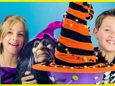 HALLOWEEN WITCH HAT BUCKET SURPRISE + TALKING WITCH! BLING BAGS MLP LEGO MONSTER POOPER | PLP TV