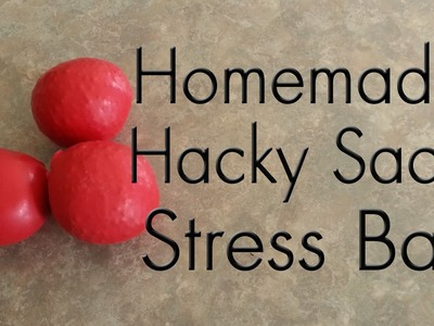 Homemade Hacky Sack Or Stress Ball