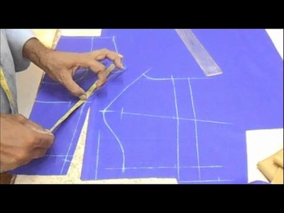 How To Cut Plain Blouse:Priences Cut Blouse(plain choli) Cutting Method