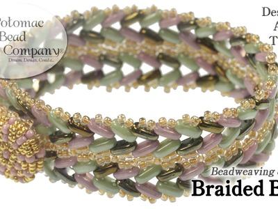 """Make """" Braided Bars """" Bracelet"""