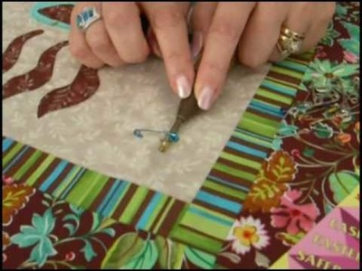 Pat Sloan's Tip #3 Pin Basting for Quilting