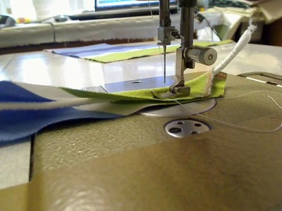 Piping a cushion - Attaching welt cord pt 1