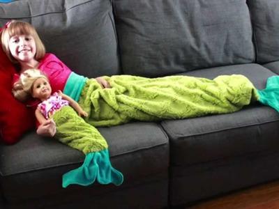 Sew A Mermaid Tail Blanket