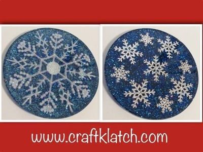 Snowflake Coasters   Another Coaster Friday