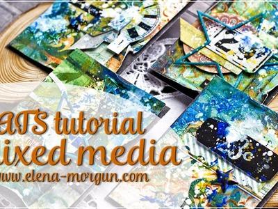 ColourArte | Mixed Media ATC Tutorial