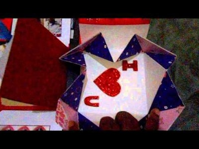 Explosion box Love Card