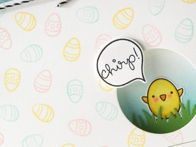 How to make an Easter window card