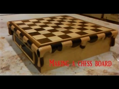 Making a chess board inspired by Salvador dali's melting clock