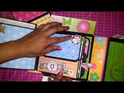 Mini Album Box. Mini Álbum Caja