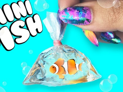 MINIATURE FISH in a BAG! ♥ DIY