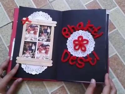 Scrapbook for My boyfriend