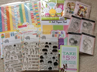 Scrapbooking and Cardmaking Haul From SimonSaysStamp