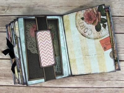 Stack the Pages Printable Mini Album