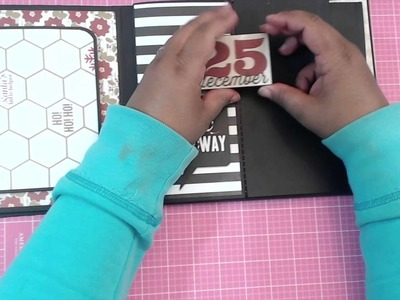{TUTORIAL} 8X8 MINI ALBUM - { PART 3.5 }