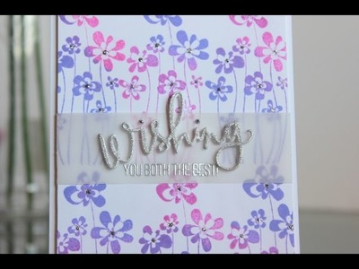Wedding card: Wishing you both the best