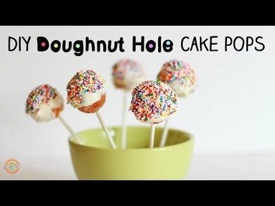 Cake Pops Hack: DIY Doughnut Holes Cake Pops