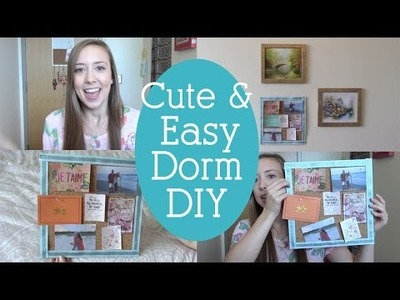 Cork Board DIY ♡ | Easy & Cute Dorm Decoration