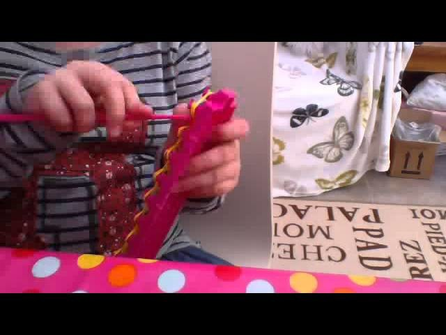 Crazy Loom single bracelet tutorial ( easy one) just for Crazy Loom