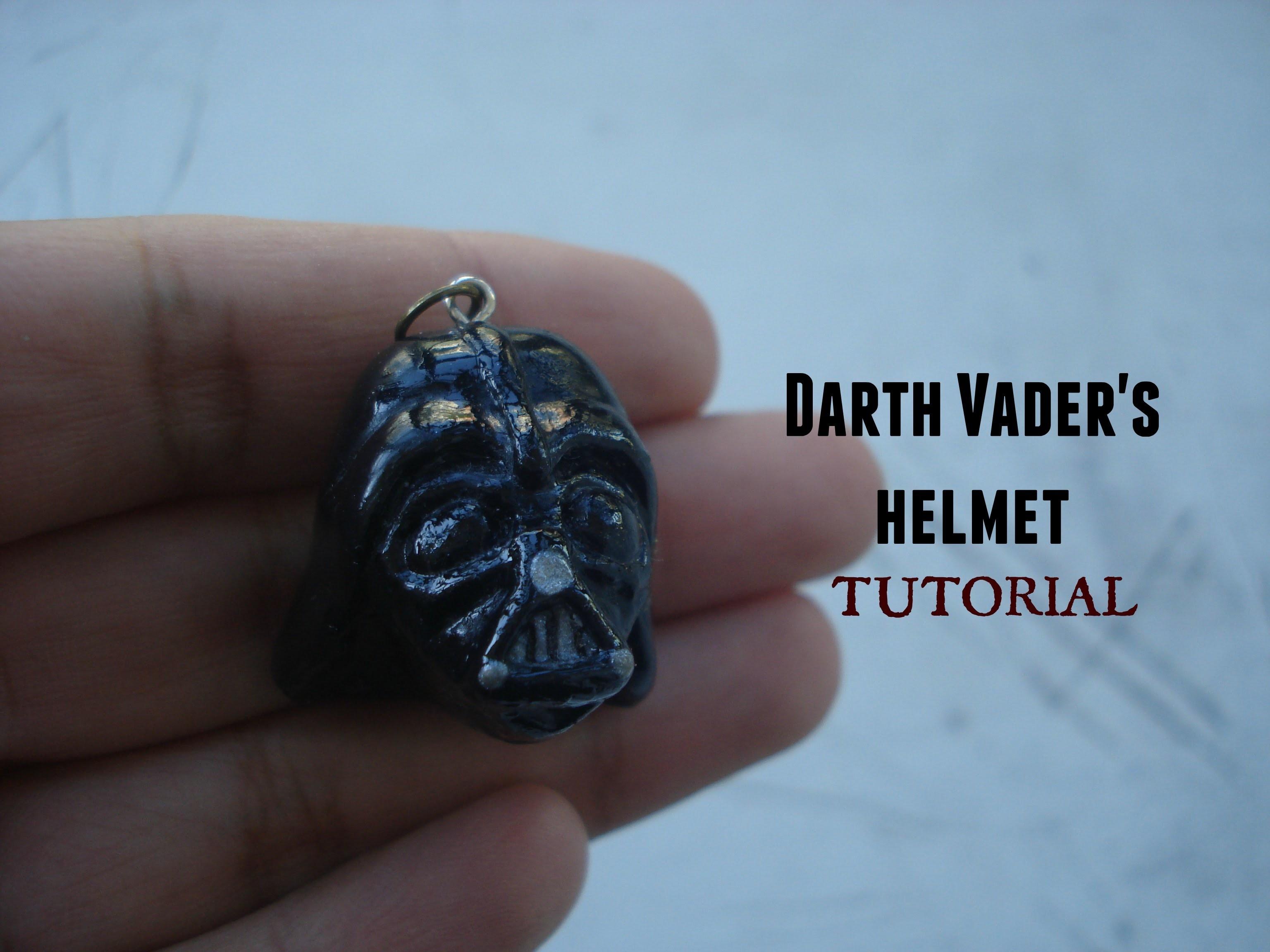 Darth Vader's helmet tutorial. polymer clay