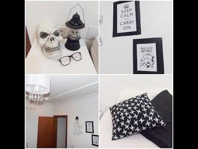 DIY | Decorando a parede e arrumando o quarto