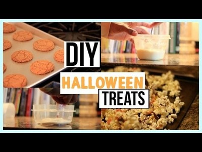 DIY Fall Treats for Halloween!